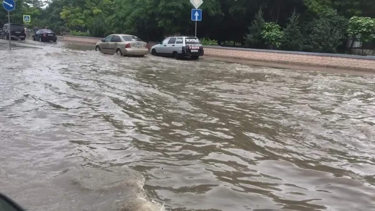 У Криму новий потоп: окупанти кажуть не панікувати