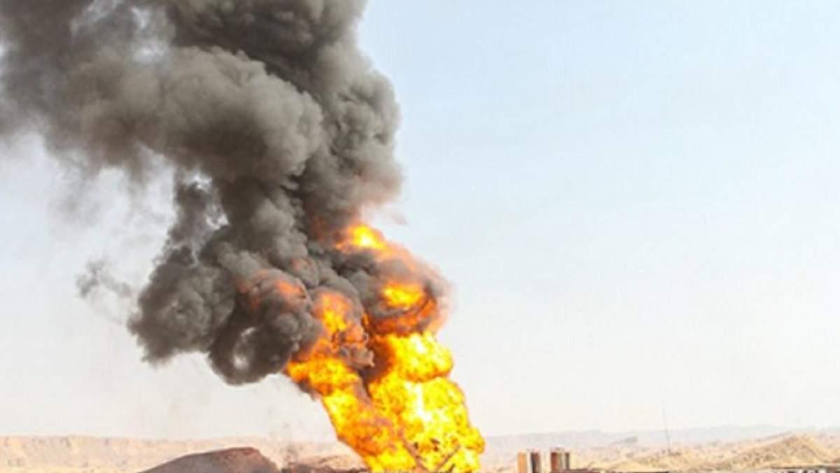 В Иране произошел взрыв на нефтепроводе 6 июля 2021: есть жертвы