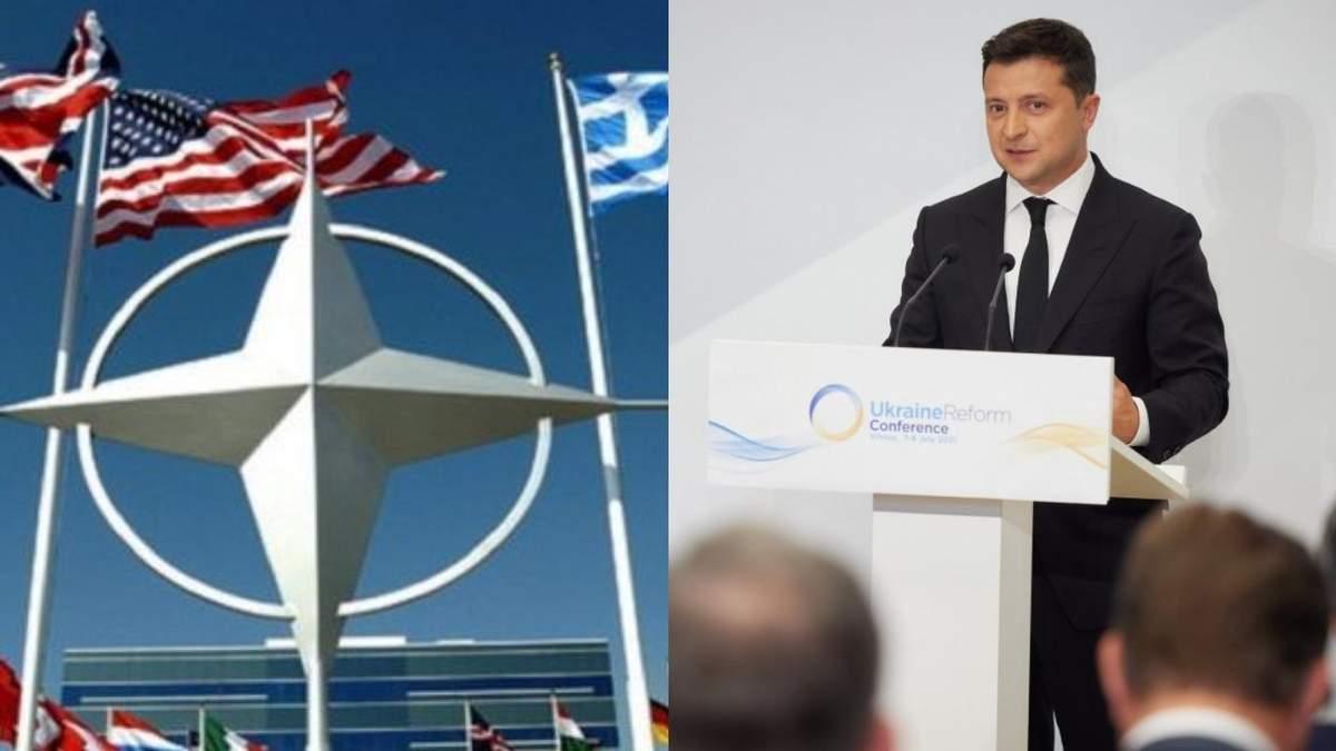Украина хочет получить список реформ для вступления в НАТО, -президент