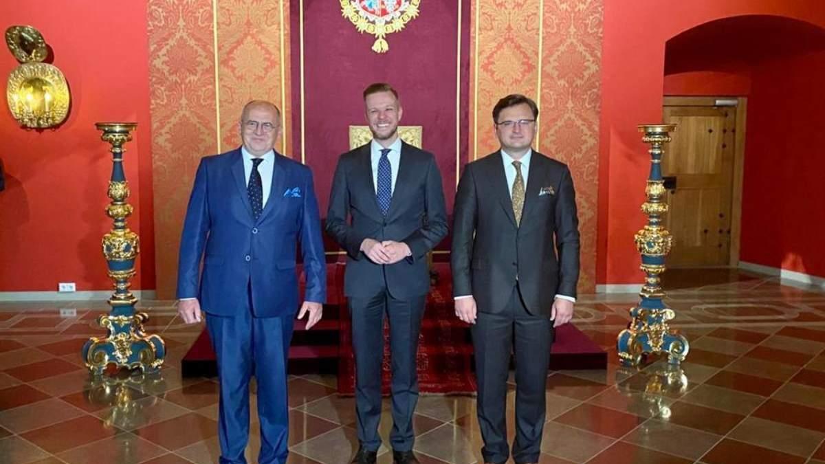 Литва и Польша поддержали вступление Украины в НАТО и ЕС
