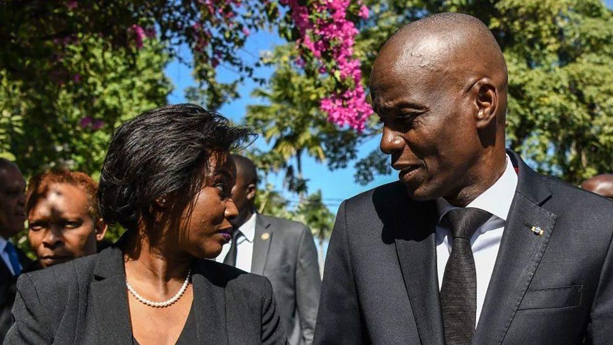 Супруга президента Гаити Мартин Моиз жива, - посольство