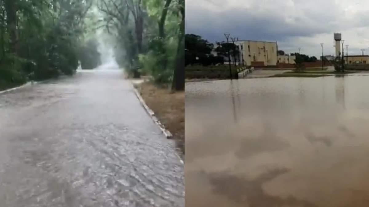 Крым дальше заливает вода: сей раз пострадали Саки, людей эвакуировали