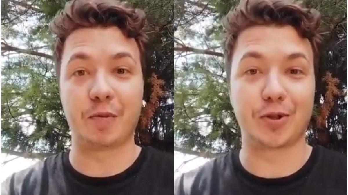 Роман Протасевич створив твітер під домашнім арештом