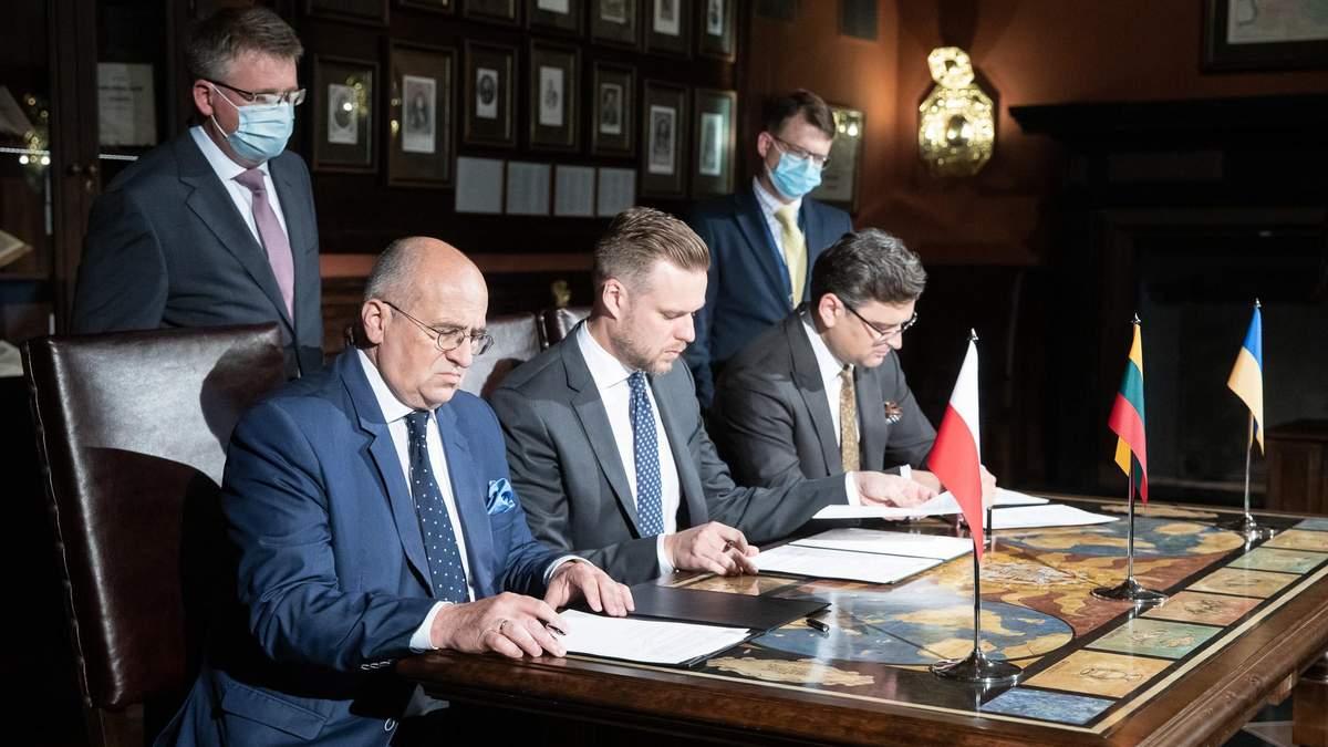 Люблінський трикутник може інтегрувати Україну в НАТО та ЄС, – Кубілюс