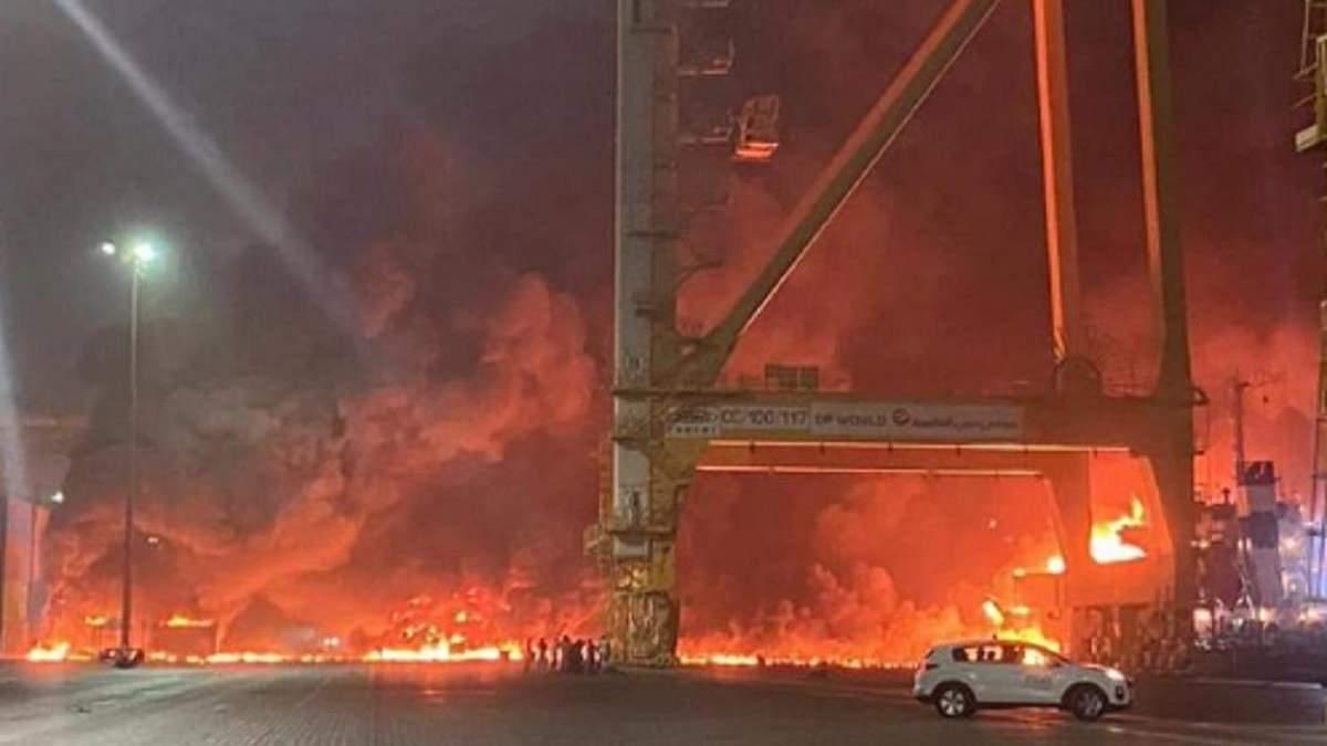 В Дубае 7 июля 2021 прогремел мощный взрыв: жуткое видео