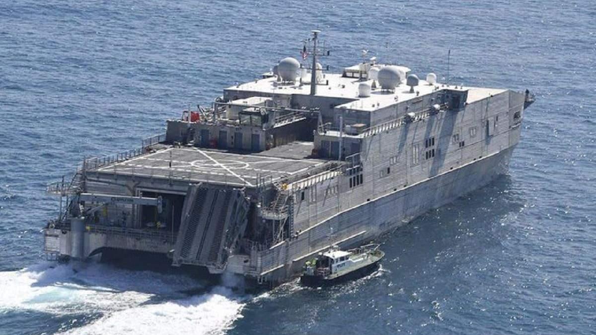 У Чорне море прямує транспортно-десантний корабель США