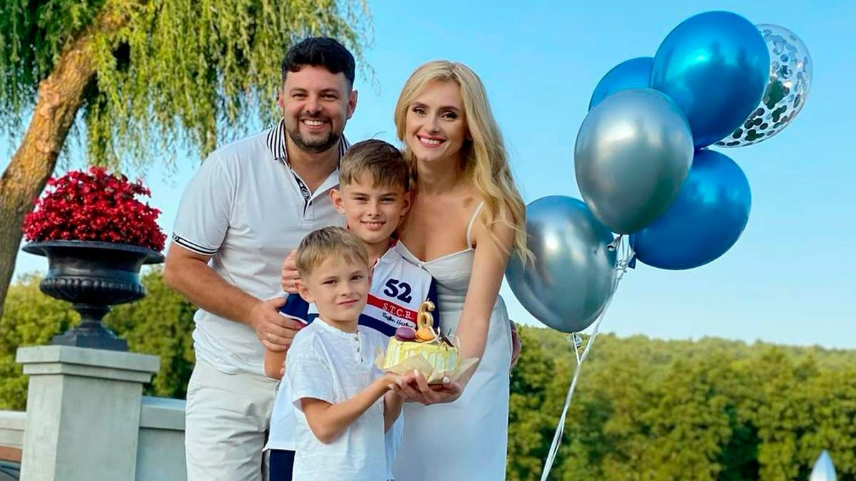 Ирина Федишин отметила 6-летие сына: фото и видео с празднования