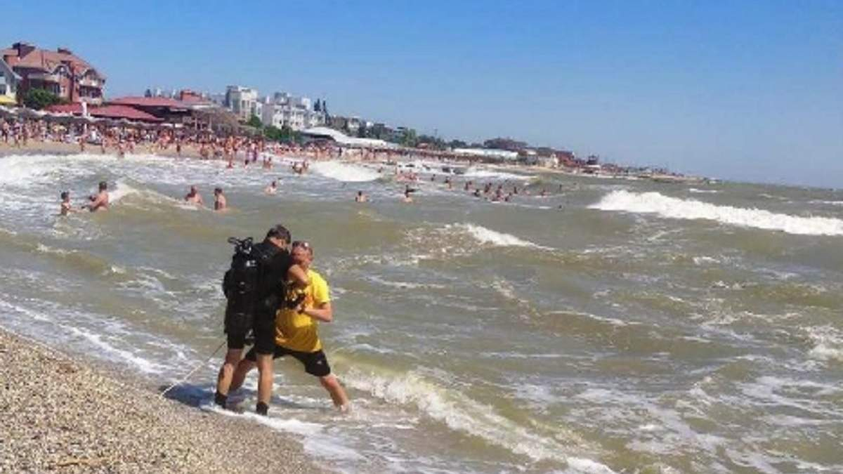 Пішов купатися під час шторму: у Бердянську загинув турист