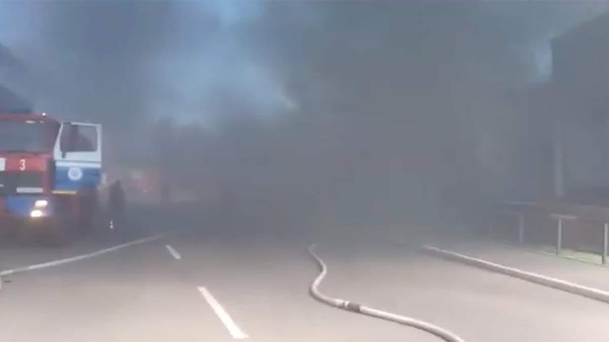 Пожар на заводе МАЗ в Беларуси 8 июля 2021