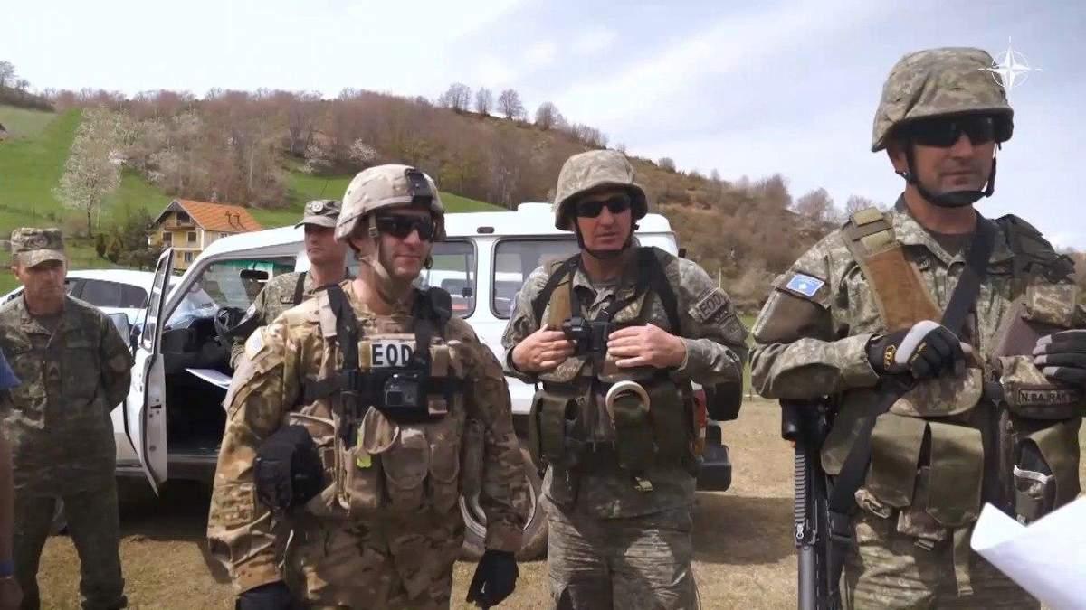НАТО помогает Украине обезвреживать опасные находки на Востоке