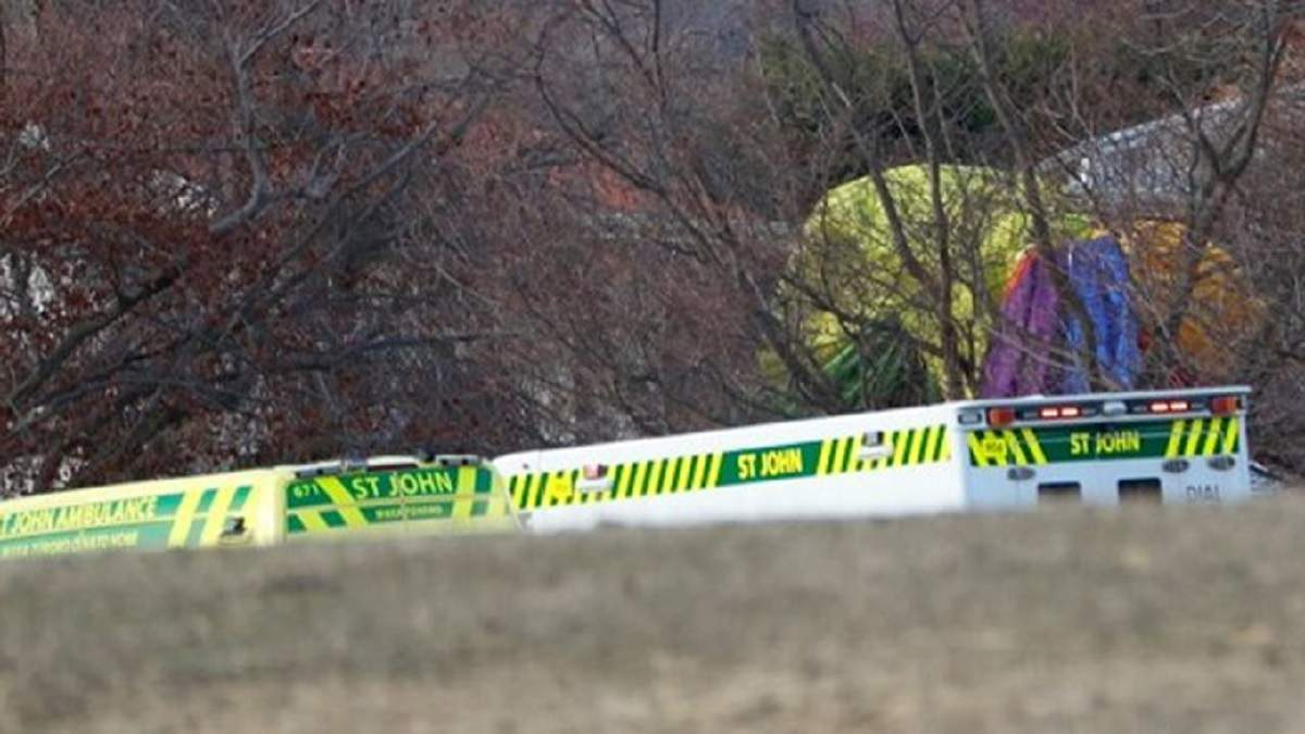 В Новой Зеландии упал воздушный шар: есть пострадавшие