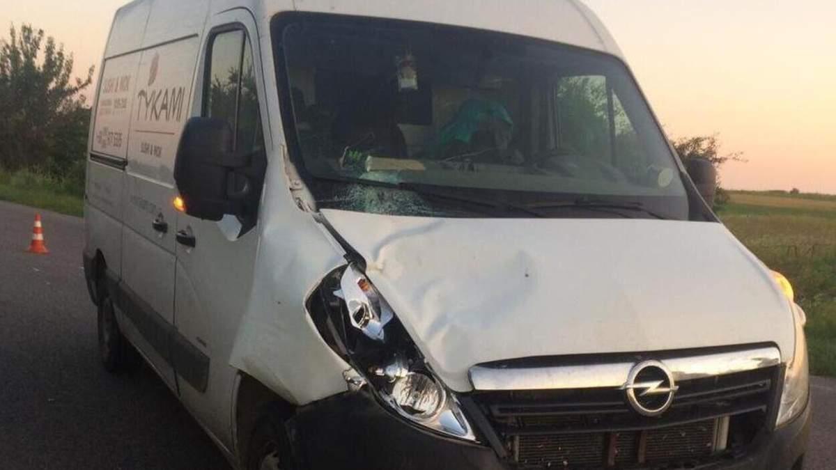 На Львовщине 08.07.2021 водитель микроавтобуса насмерть сбил мужчину фото