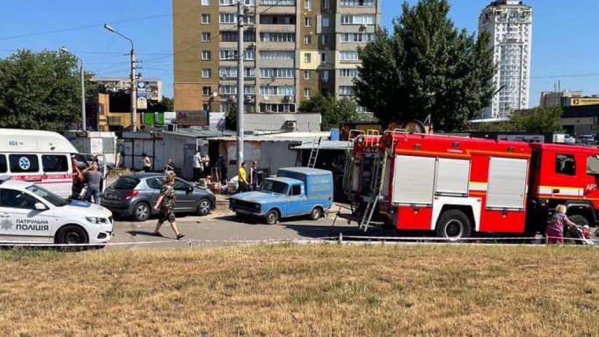 В Киеве взорвалась шаурма: в МАФе не выдержал газовый баллон
