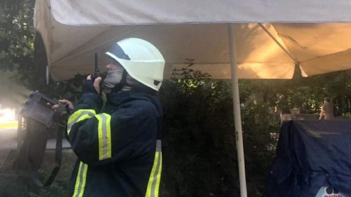 В центре Одессы в кафе вспыхнул пожар 10 июля 2021: фото