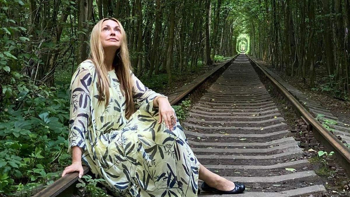 Ольга Сумская с дочерью побывала в Туннели любви: фото, видео