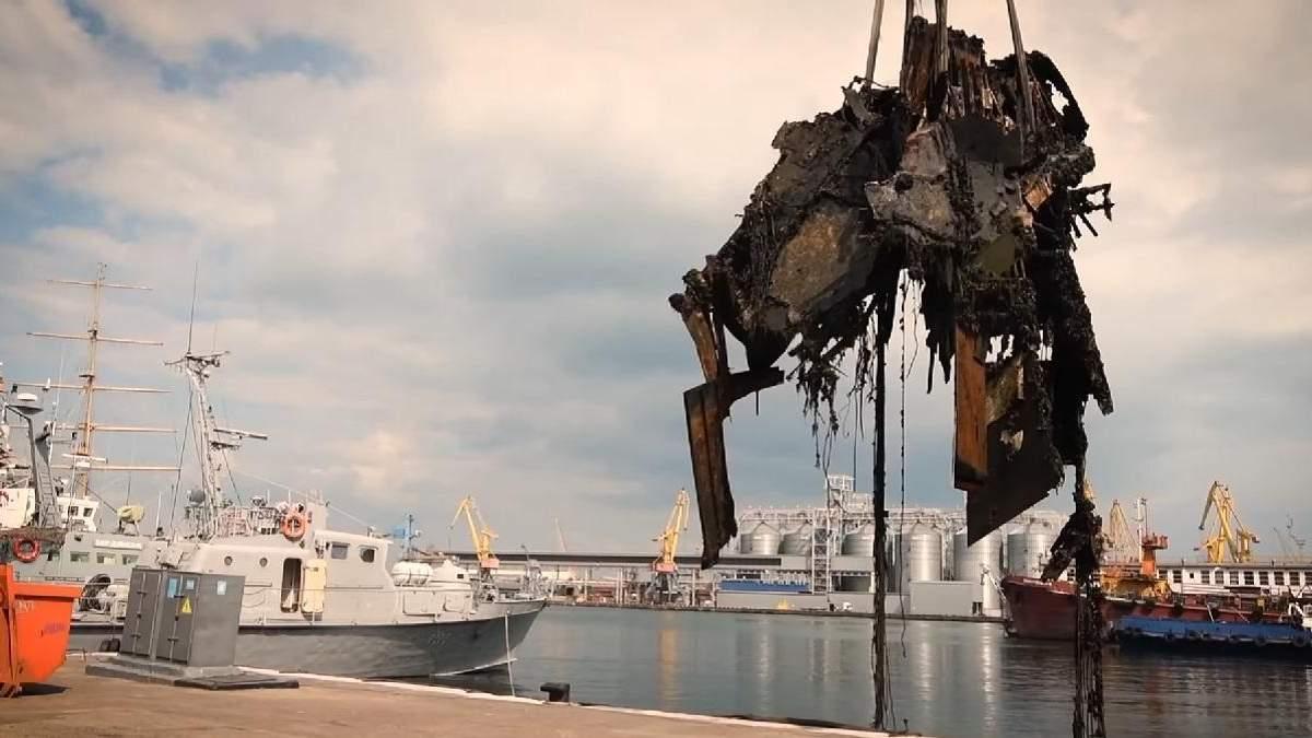 Водолази підняли з дна уламки улюбленого катера Брежнєва