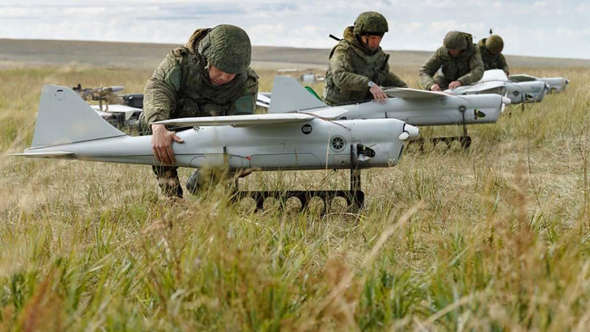Росія систематично застосовує безпілотник Орлан-10 в Україні