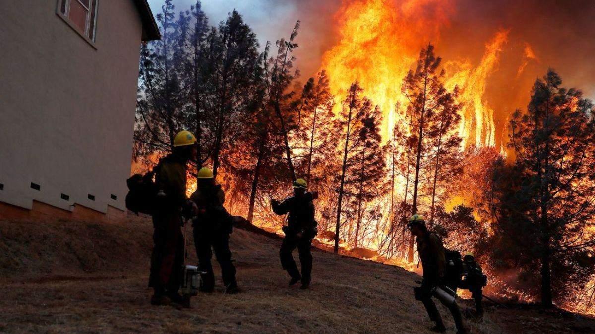 Спека в Каліфорнії спричинила масштабні пожежі: людей евакуюють