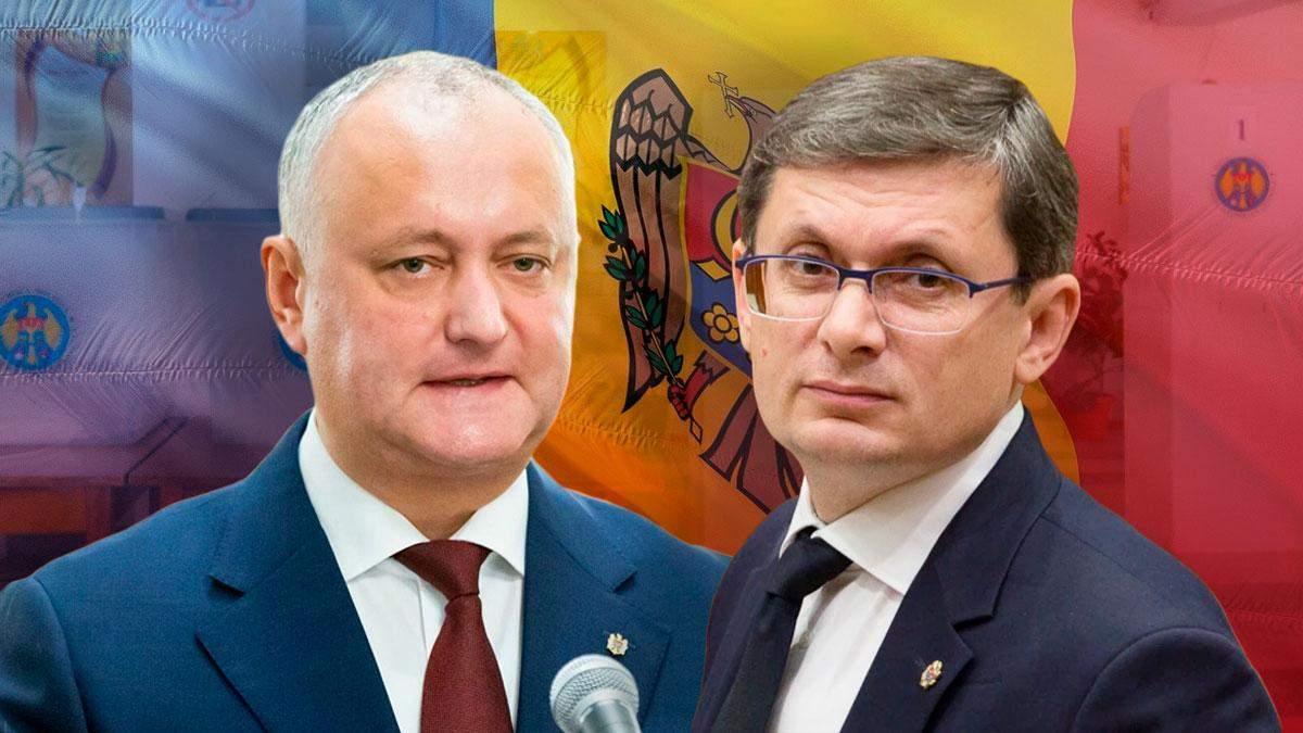 Додон та Гросу – лідери двох партій з найбільшим відсотком підтримки