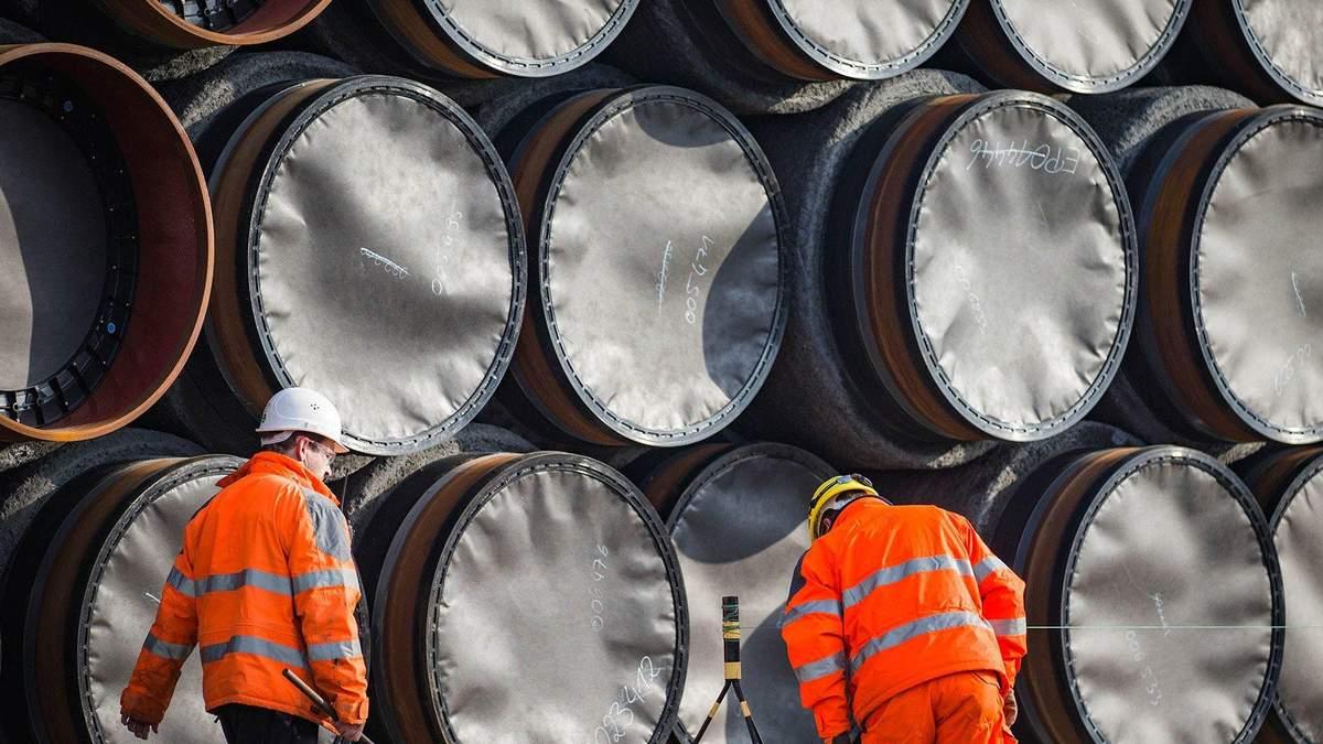 Керівник Північного потоку-2 очікує добудувати газопровід вже в серпні