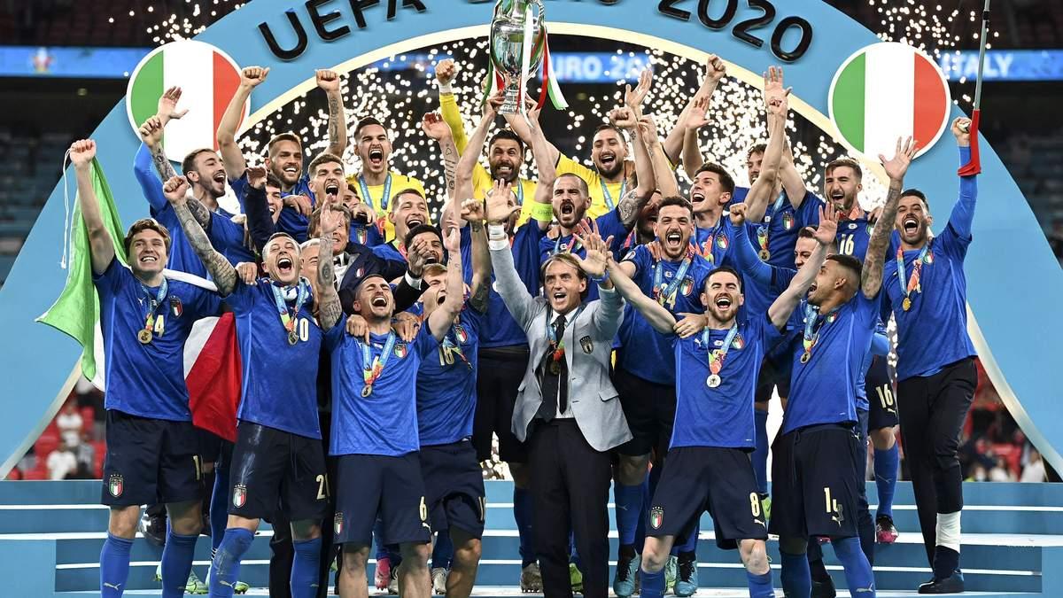 Збірна Італії виграла Євро-2020