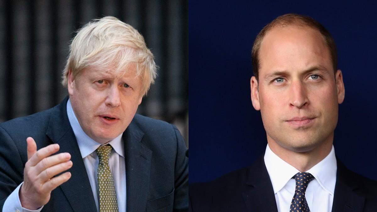 Джонсон и принц Уильям осудили расистские оскорбления сборной Англии