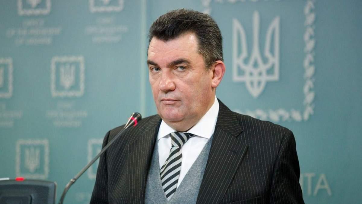 Данілов про те, чи можливе загострення на Донбасі до Дня Незалежності