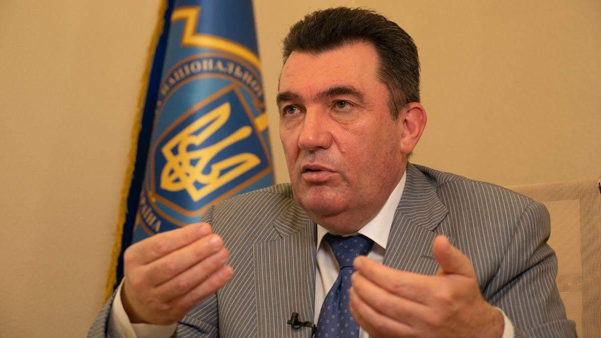 Данилов объяснил, почему санкции против Фирташа не распространились на Интер