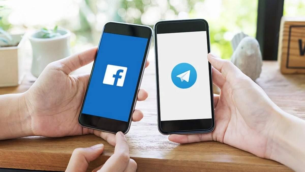 В РНБО прокомментировали блокирование Facebook и Telegram в Украине
