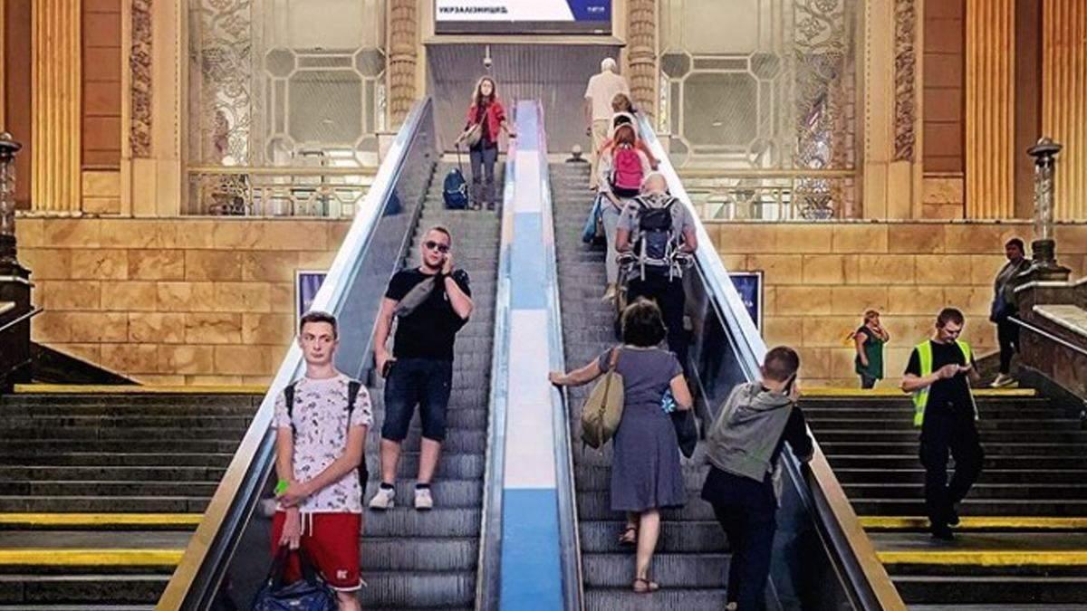 На Центральному залізничному вокзалі Києва нарешті замінять ескалатори