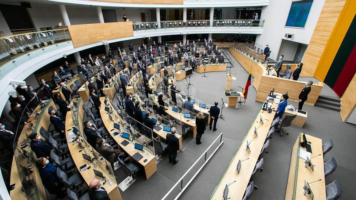 Литва оголосила масовий потік мігрантів гібридною агресією Білорусі