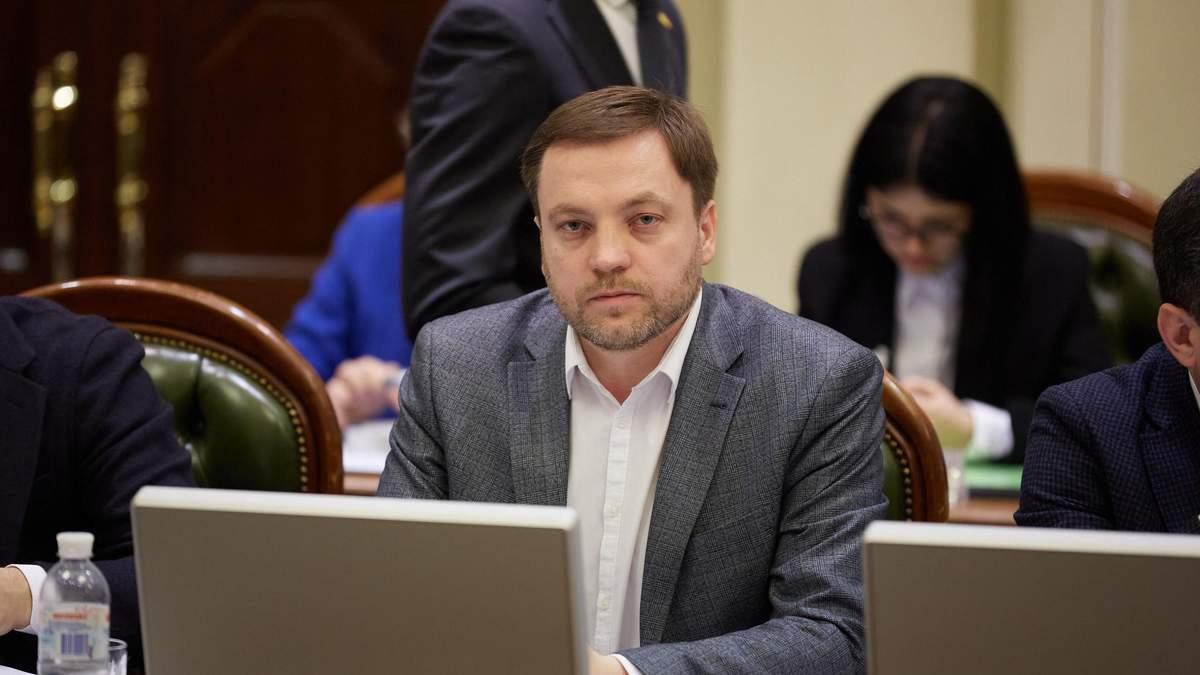 На пост главы МВД предложили Дениса Монастырского