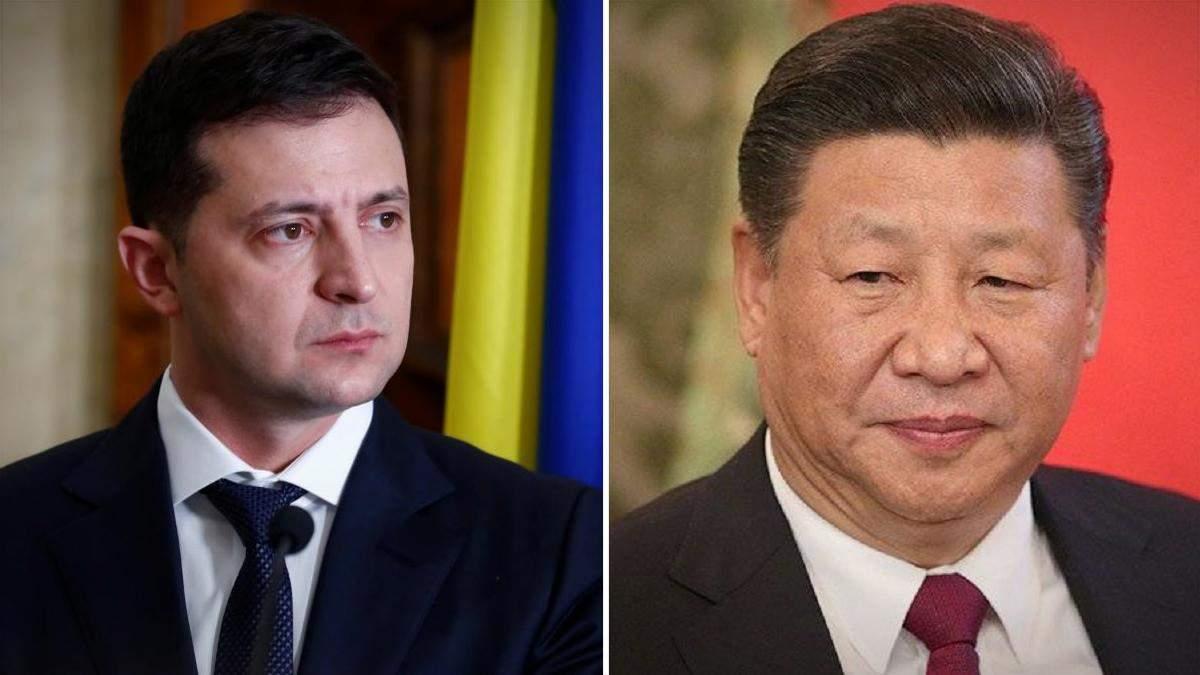 Зеленский провел первую телефонную беседу с главой Китая Си Цзиньпином