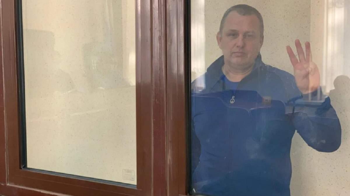 Затриманий окупантами Єсипенко знепритомнів дорогою зі суду в СІЗО