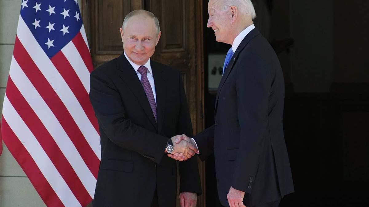 Статья Путина направлена на Бадена и Вашингтон