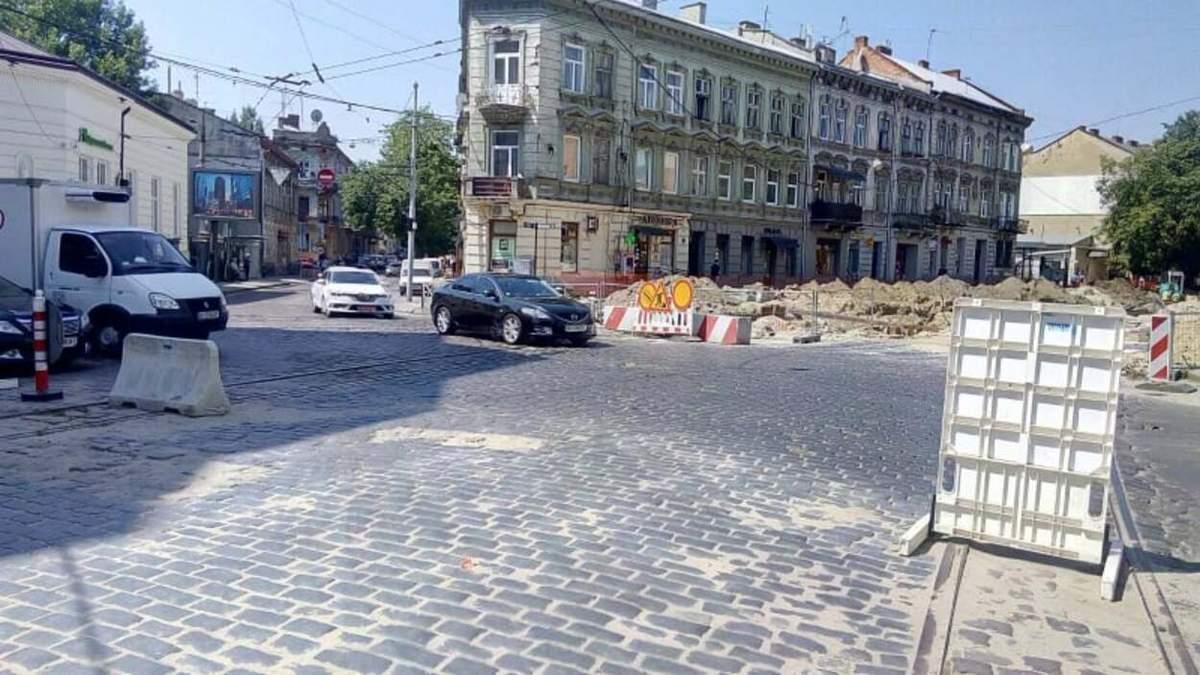 В межах реконструкції вулиці Бандери у Львові перекриють частину Городоцької