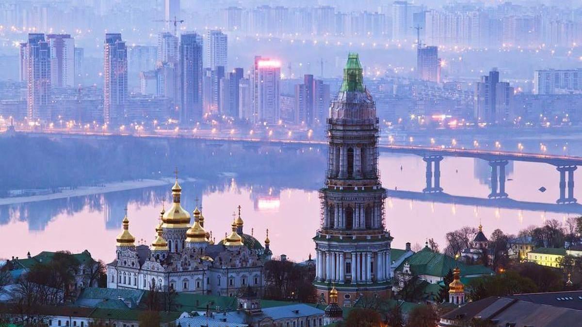 В воздухе Киева фиксируют значительное превышение вредных примесей