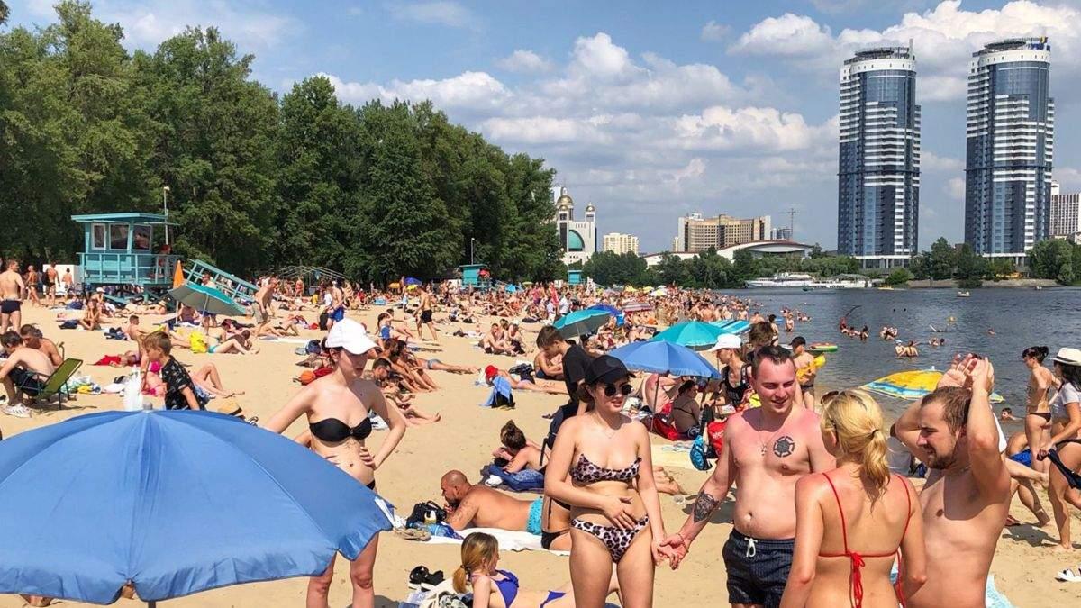 Где в Киеве запрещено купаться: список пляжей