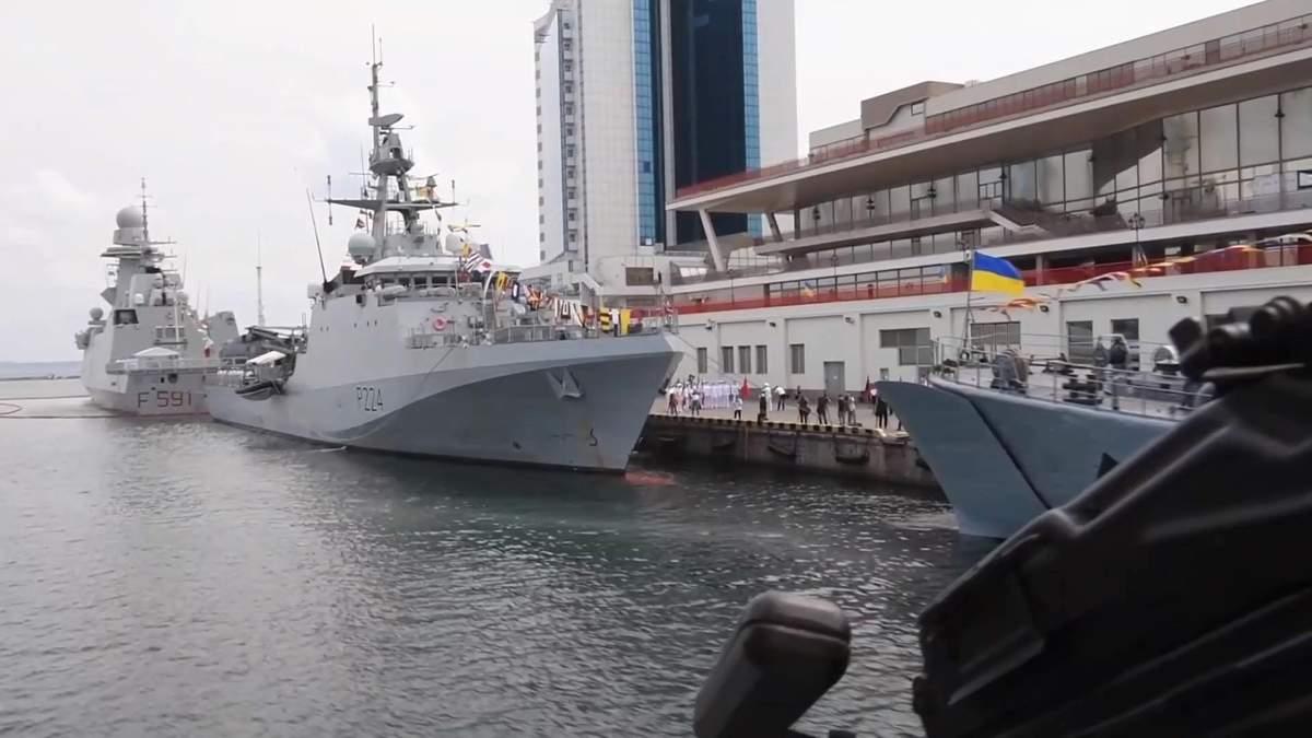 Украинские военные завершили масташтабни учения НАТО Си Бриз-21