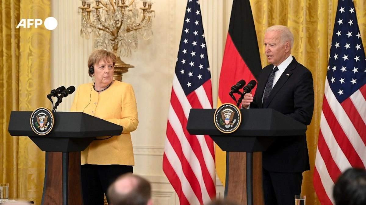 Закончилась встреча Байдена и Меркель: что говорили лидеры об Украине