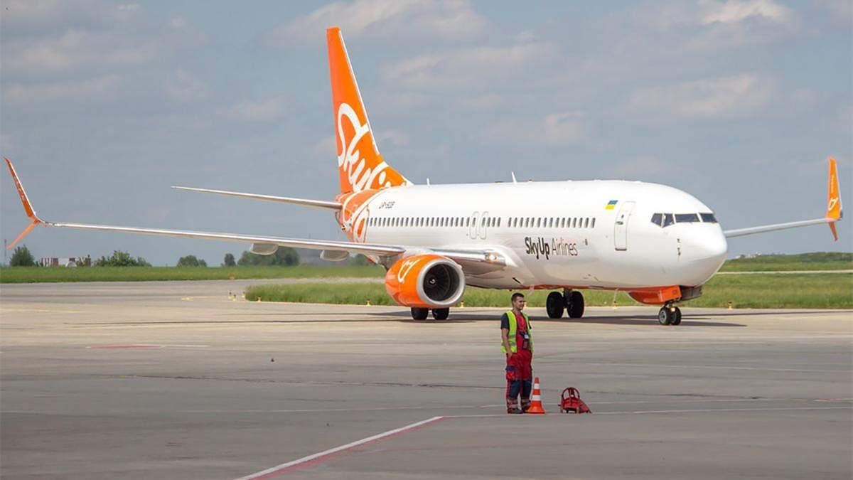 У Харкові затримують рейси авіакомпанії SkyUp Airlines