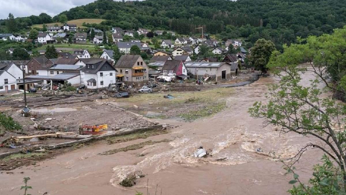 Климатологи поражены масштабами наводнения в Германии