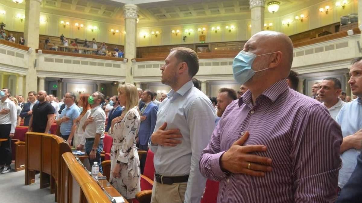 Нардепів хочуть зібрати на позачергове засідання 20 липня
