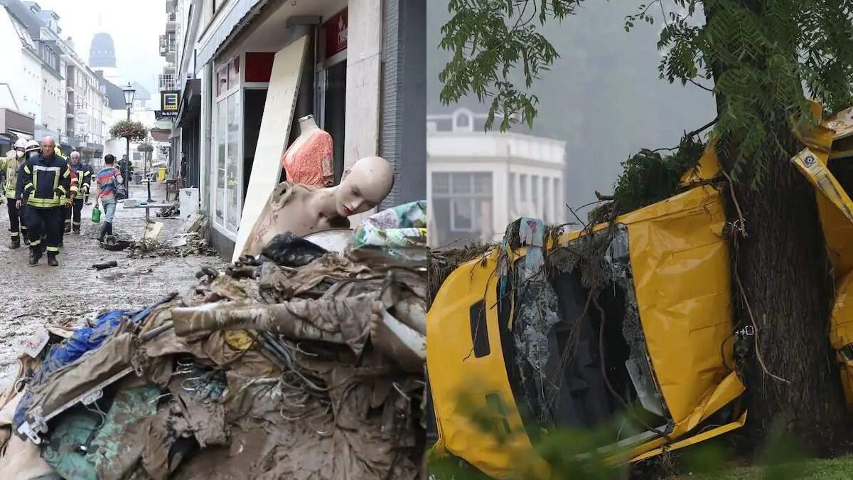 Фото и видео последствий смертельной катастрофы в Германии