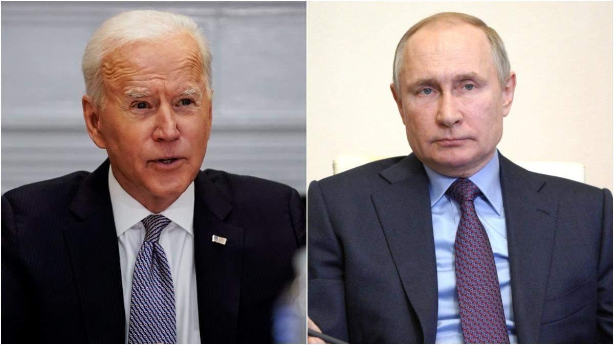 Байден перейшов до атак проти Путіна
