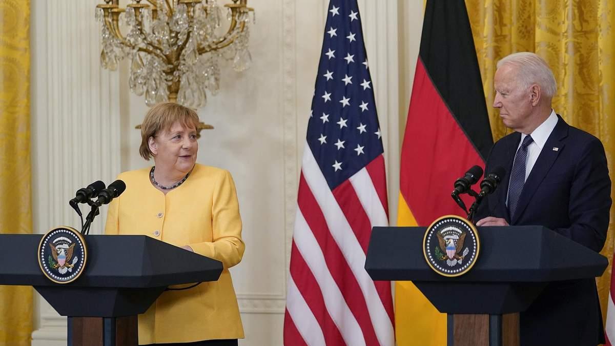 В Зеленского прокомментировали результаты встречи Меркель и Байдена
