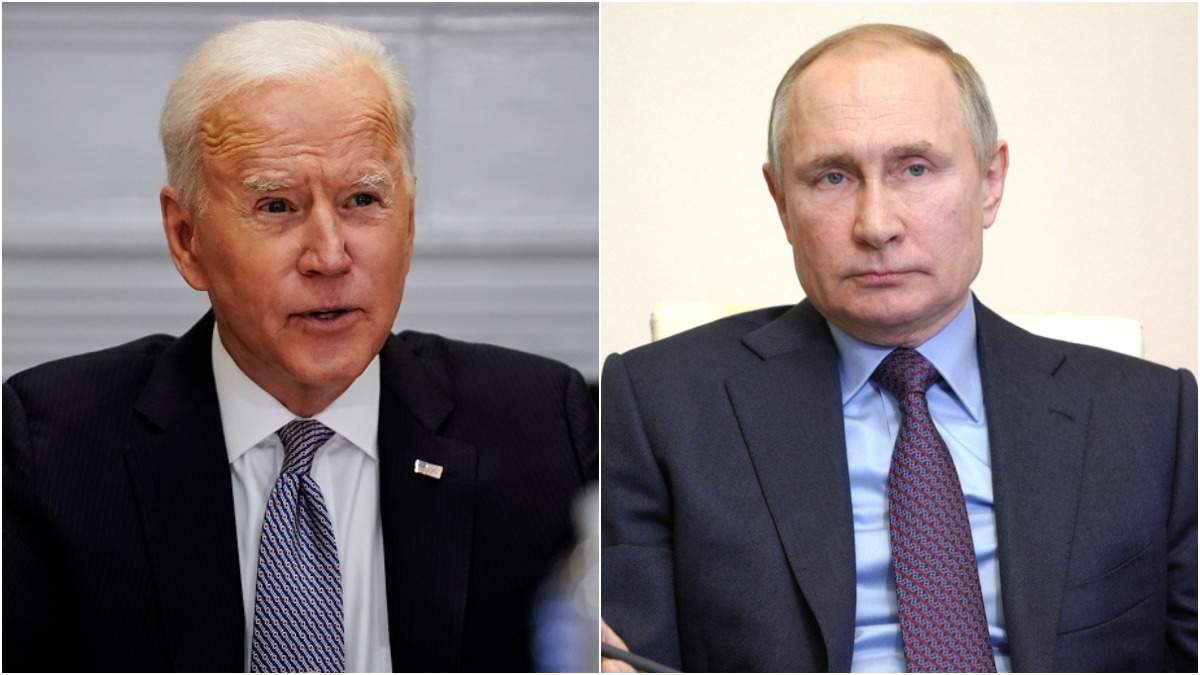Байден перешел к атакам против Путина