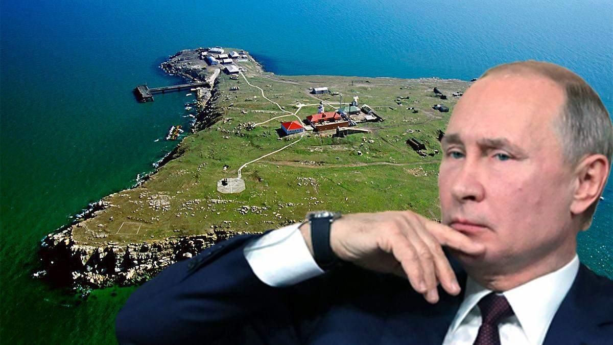 Путин намерен захватить Змеиный: что об этом известно