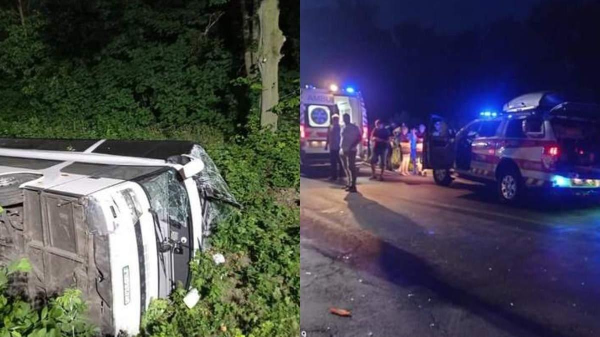 Що відомо про стан потерпілих в аварії автобуса Київ – Вроцлав