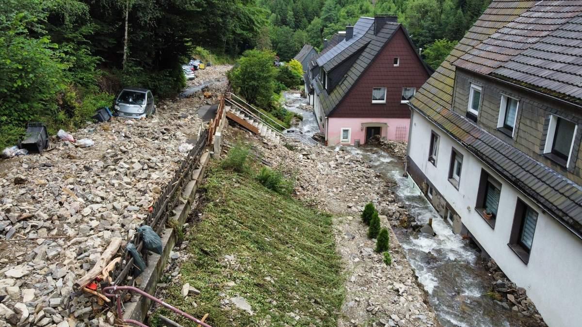 Потужні повені у Німеччні: кількість жертв зросла до 133